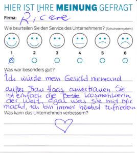 ricare-dettingen-servicepreis2019-kundenmeinung10