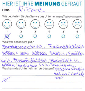 ricare-dettingen-servicepreis2019-kundenmeinung11