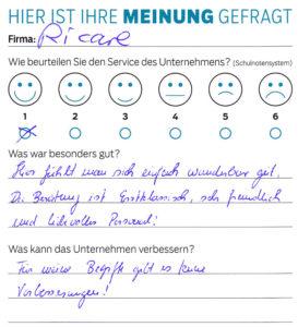 ricare-dettingen-servicepreis2019-kundenmeinung13