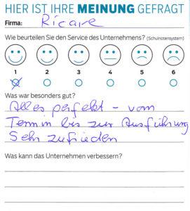 ricare-dettingen-servicepreis2019-kundenmeinung17