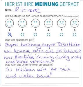 ricare-dettingen-servicepreis2019-kundenmeinung2