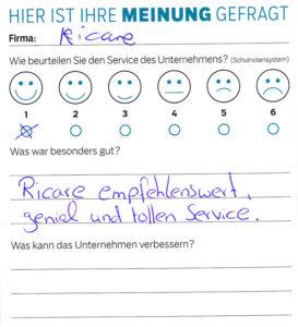 ricare-dettingen-servicepreis2019-kundenmeinung3