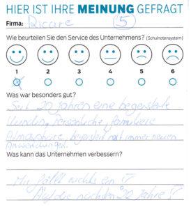 ricare-dettingen-servicepreis2019-kundenmeinung4