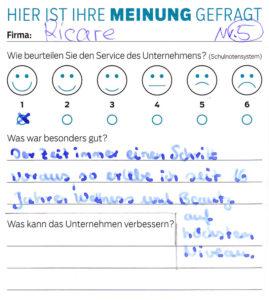 ricare-dettingen-servicepreis2019-kundenmeinung5