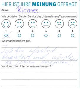 ricare-dettingen-servicepreis2019-kundenmeinung6