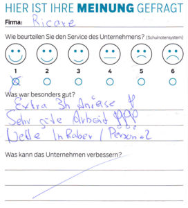 ricare-dettingen-servicepreis2019-kundenmeinung7