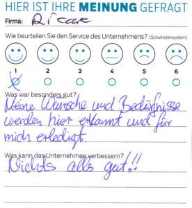 ricare-dettingen-servicepreis2019-kundenmeinung8
