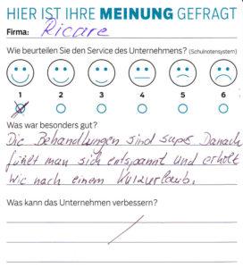 ricare-dettingen-servicepreis2019-kundenmeinung9